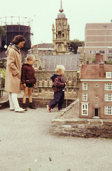 Kindheit, Miniatur, Miniaturpark, modell, Rathaus