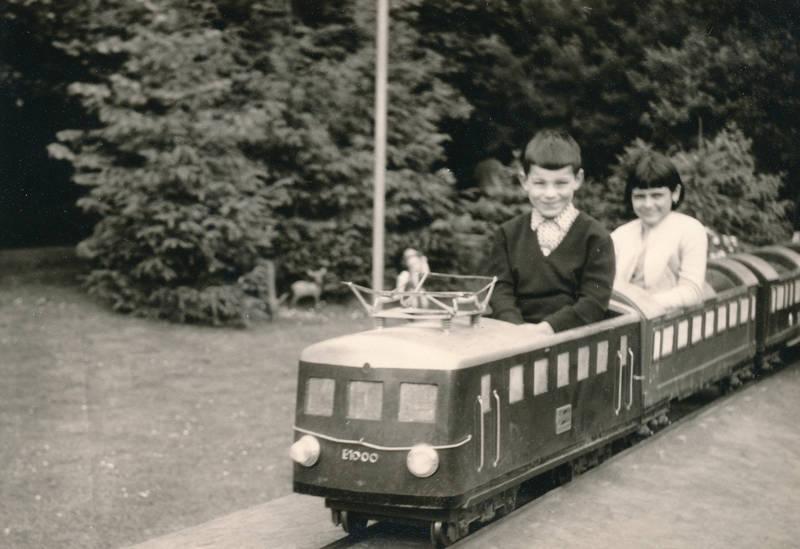 ausflug, bahn, Eisenbahn, Kindheit, park