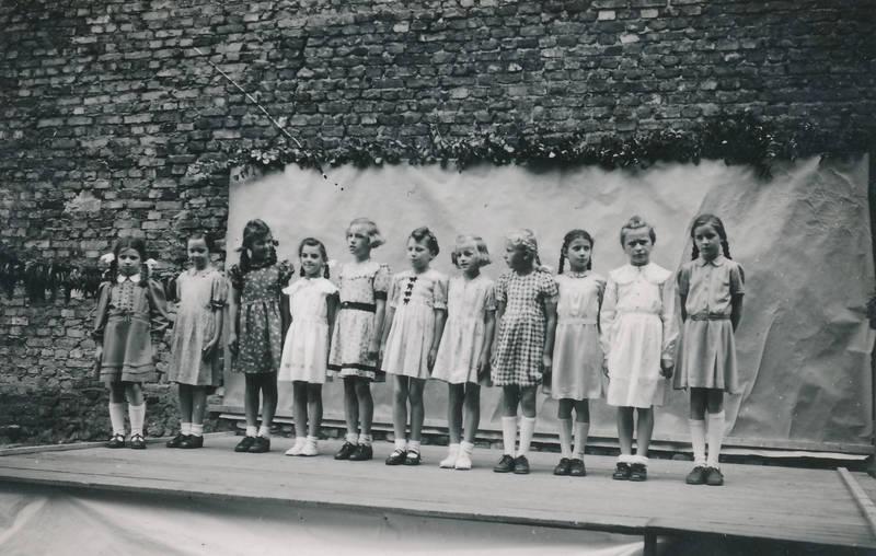 Aufführung, bühne, Kindheit, Mainz-Kostheim, Pfarrfest, theater