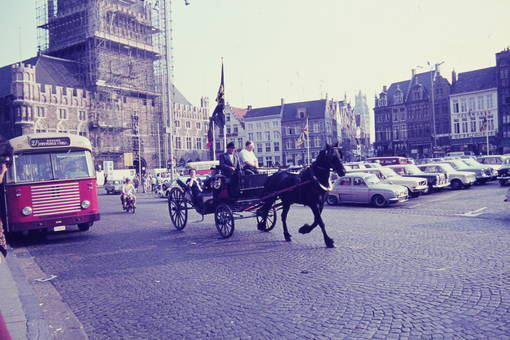 Marktplatz in Brügge