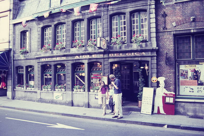 ausflug, belgien, Bier, Brügge, Gaststätte, Kindheit, reise, restaurant, straße, urlaub
