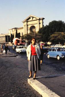Straße in Rom