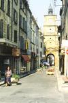 Straße in Belgien
