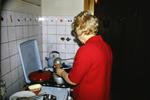 Kochen auf dem Gasherd