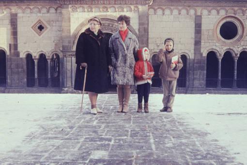 Vor der Schlosseingang