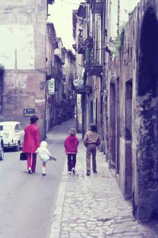 Spaziergang durch die Stadt