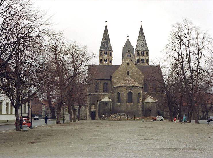 Domplatz, halberstadt, kirche