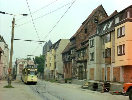 Straßenbahn durch Halberstadt