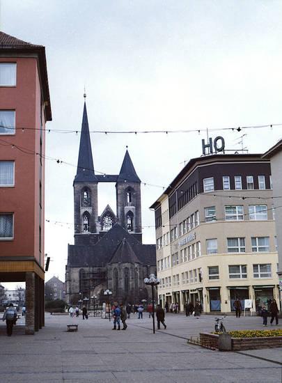 halberstadt, kirche, Kirchtürme, Martinikirche