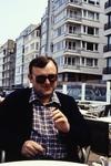 Mit der Zigarre in Borkum