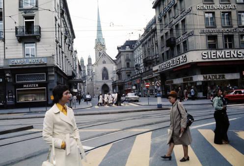 Poststraße in Zürich