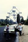 Vor dem Atomium