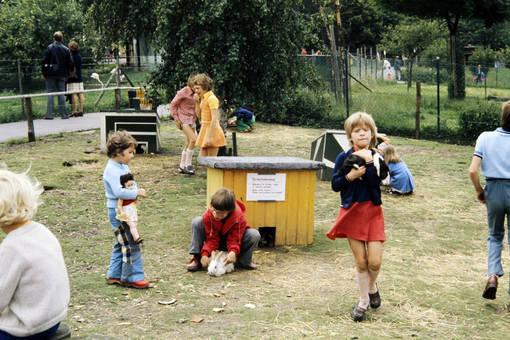 Streichelwiese im Tierpark