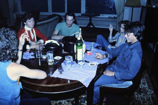 Rauchen & Trinken am Tisch