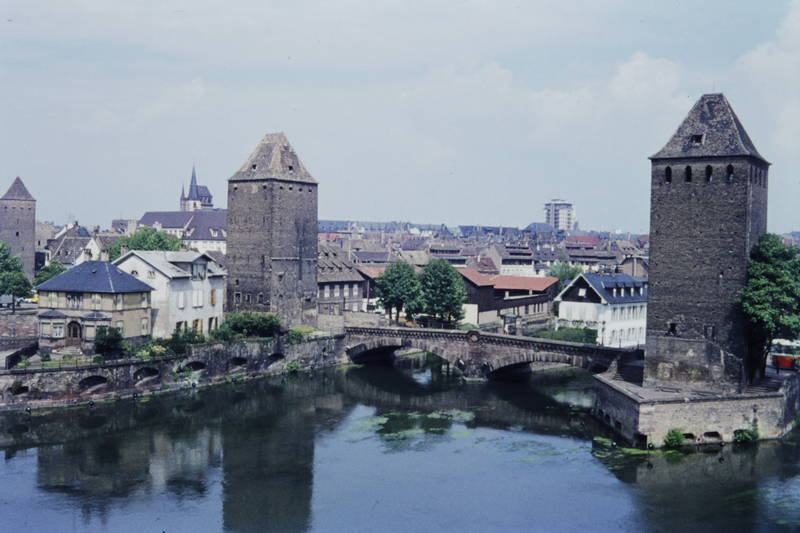 Gedeckte Brücken, stadtbefestigung, straßburg, turm