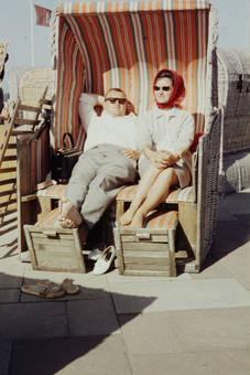 Gemeinsam im Strandkorb