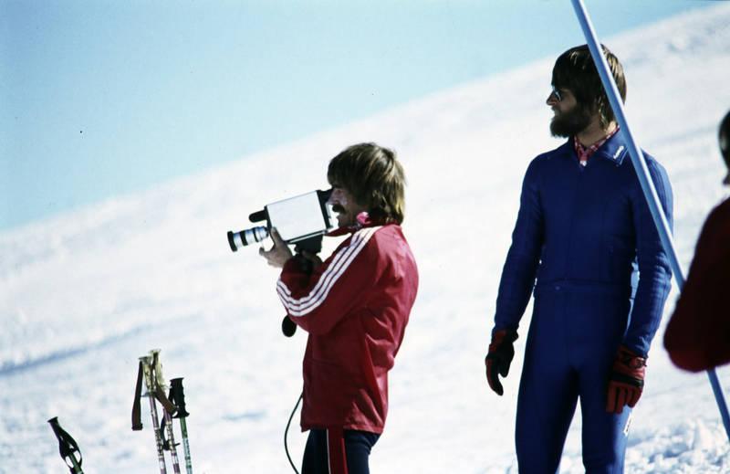 filmen, Kamera, schnee, skier, Skifahren, winter, Wintersport