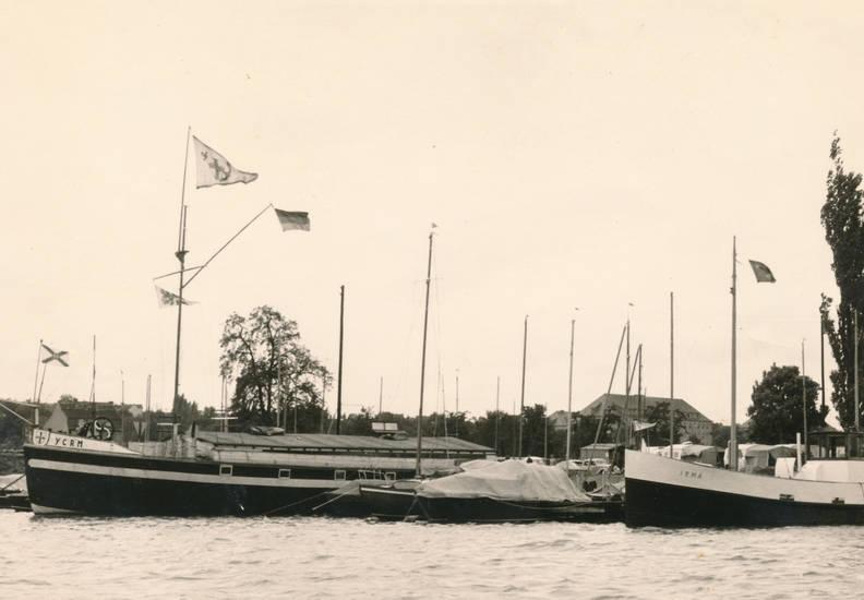 fahne, Irma, Rhein, rheinschifffahrt, YCRM