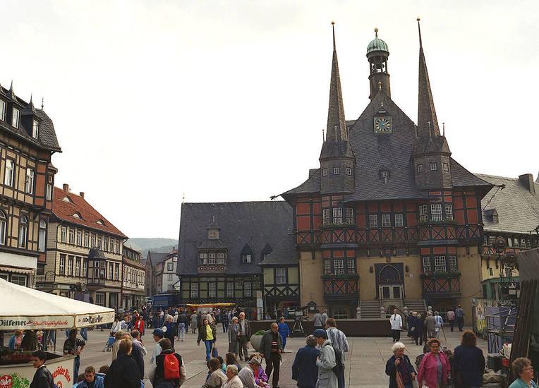 Marktplatz, Rathaus, Wernigerode