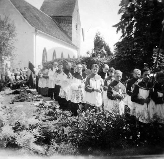 Christentum, Geistlicher, kirche, Messdiener, Pfarrer, Prozession, Religion