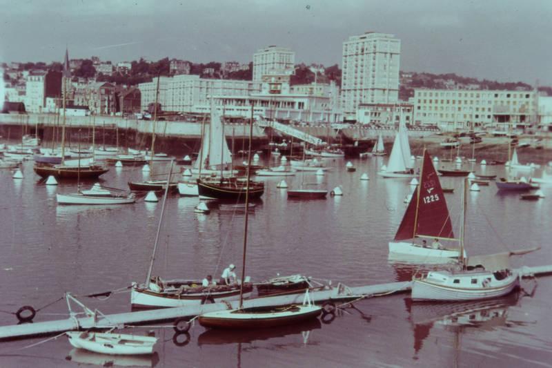 boot, Hafen, haus, segel, Segelboot, Ufer