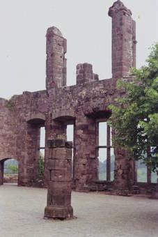 Ruine der Burg Nideggen