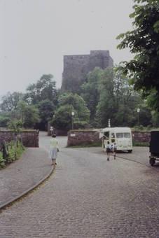Straße zur Burg Nideggen
