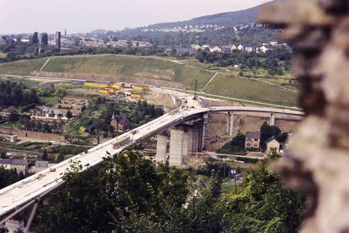 Brückenbau Lahnstein
