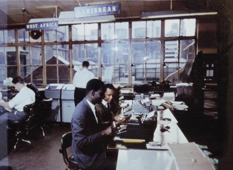 anzug, arbeit, arbeiten, Carribean, drucker, schreibmaschine, West African