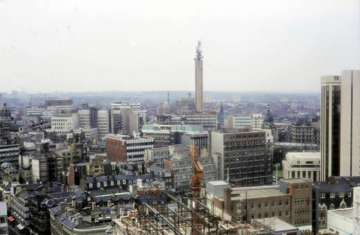 Birmingham aus der Luft