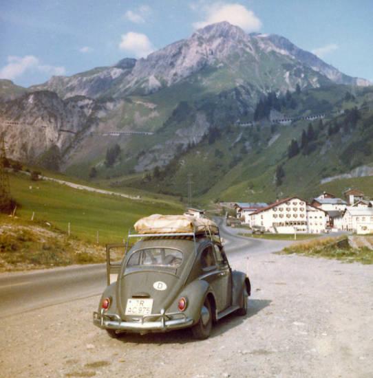 auto, Dachgepäckträger, käfer, KFZ, PKW, reise, vw, VW Käfer, VW-Käfer