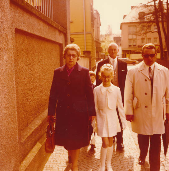 familie, Kindheit, kirche, Kommunion, Religion