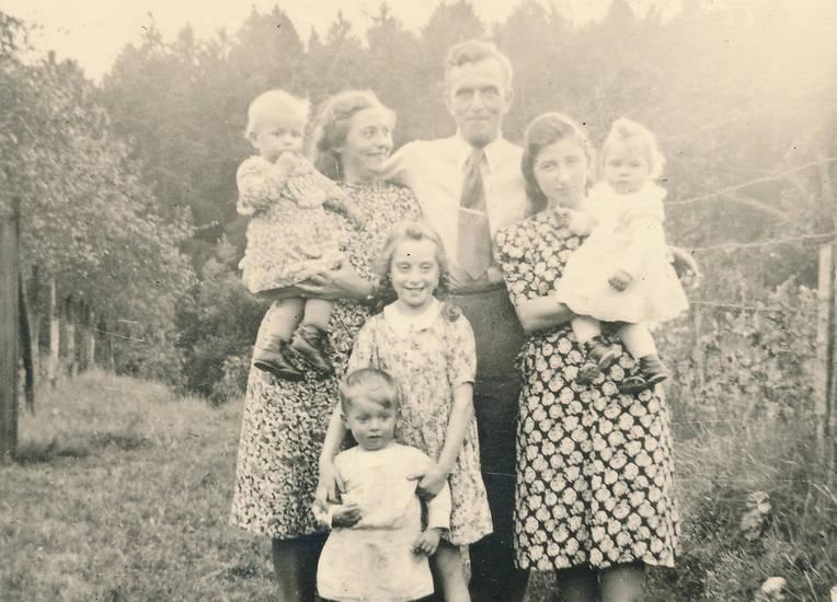 Eltern, familie, familienfoto, Geschwister, Kindheit