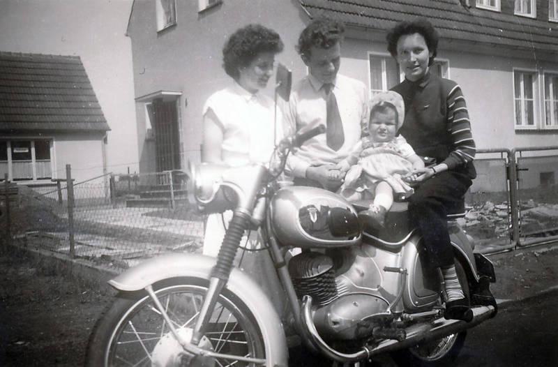 Kindheit, Krawatte, mode, Motorrad