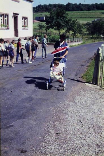 buggy, kinderwagen, Kindheit, Sonnenschirm, spaziergang