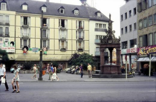 Marktbrunnen in Mainz