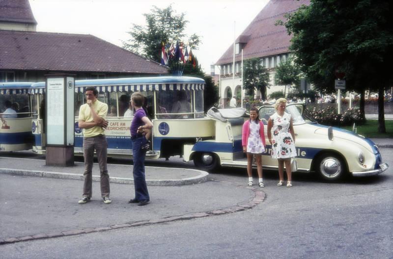 anhänger, auto, Bimmelbahn, café, Café am Friedrichsturm, KFZ, PKW