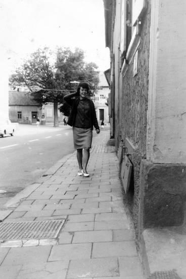 arbeit, Bürgersteig, mode, rock, weg, Windesheim