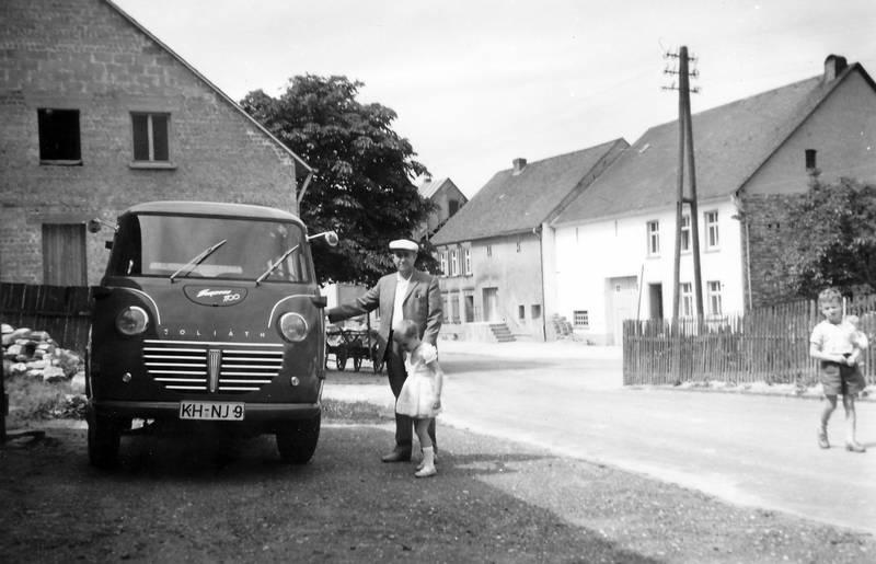 bus, goliath, Goliath Express 1100 Bus, hut, KFZ, schreinerei, Transporter, Windesheim
