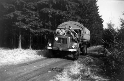 Bundeswehrfahrzeug