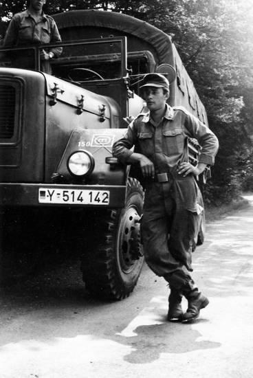 Bundeswehr, bundeswehrfahrzeug, fahrzeug, Magirus-Deutz, Pionier, soldat, Übung, Uniform, Verpflegungsfahrer