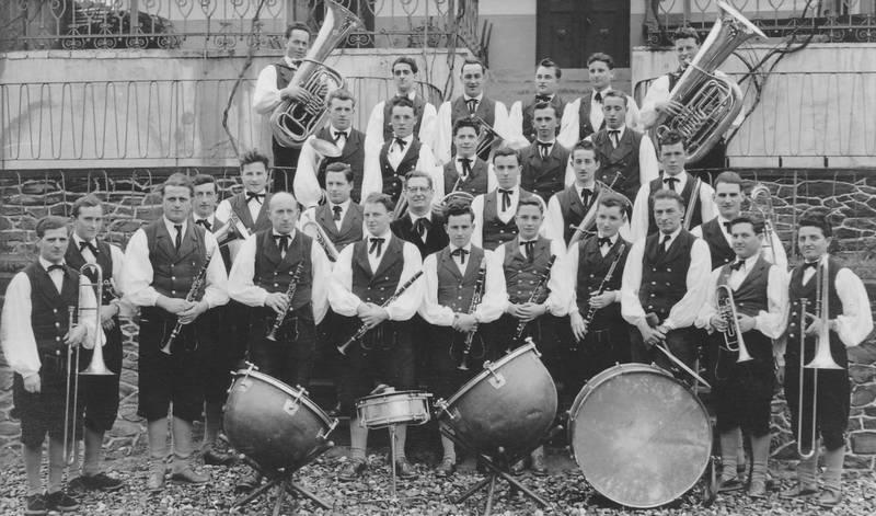 blaskapelle, instrument, musiker, Musikkapelle