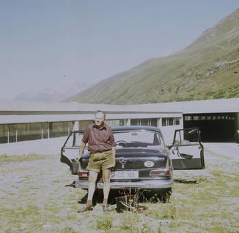 Geparkt in den Walliser Alpen