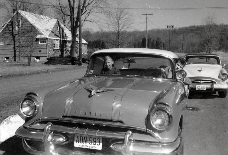 auto, beifahrersitz, Coupe, Garden State, KFZ, Kindheit, PKW, Pontiac, Pontiac Chieftain, Starliner, steuer, straße, strommast, Studebaker
