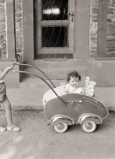 ausflug, kinderwagen, Kindheit, Spaß