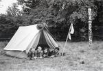 Liegen im Zelt