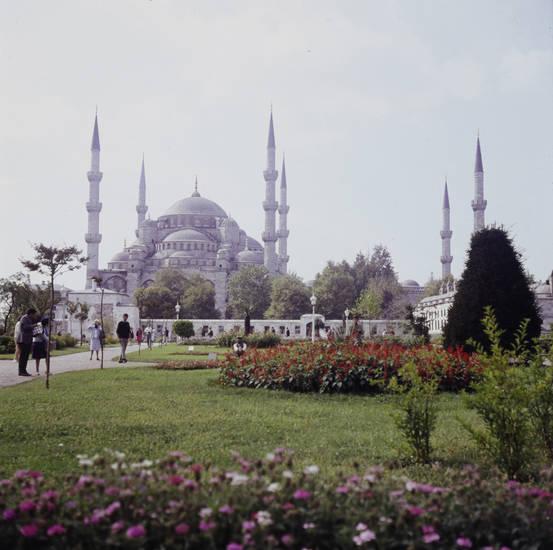 Blaue Moschee, hauptmoschee, Istanbul, istanbuls hauptmoschee, Moschee, osamnische architektur, osmanisch, sultan ahmed, Sultan Ahmet Camii, Sultan-Ahmed-Moschee, turm