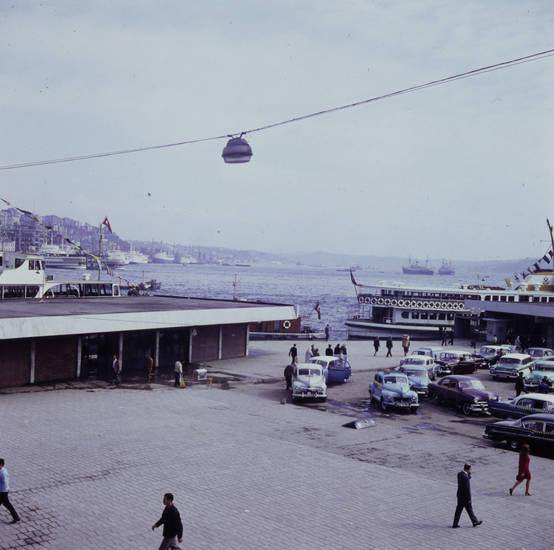 auto, bosporus, fähre, geparkt, Hafen, hafengelände, KFZ, PKW, rückfahrt, schiff