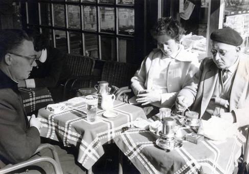 Pause im Café