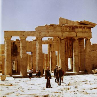 Besuch der Akropolis